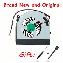 Ventilador Original Para Clevo W150 W150er W350 W350ETQ W370 W370ETQ W370SKQ K590S K660E AB7905HX-DE3 Radiador ventilador de refrigeração da cpu cooler