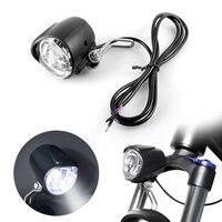 2 em 1 led bicicleta chifre luz da bicicleta elétrica frente farol lâmpada de advertência segurança acessórios da bicicleta