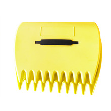 1Pair Rubbish Lawn Pick Up Portable Leaves Yard Leaf Scoop Collect Grass Grabber Garden Cleaning Hand Rakes Tool Trimming