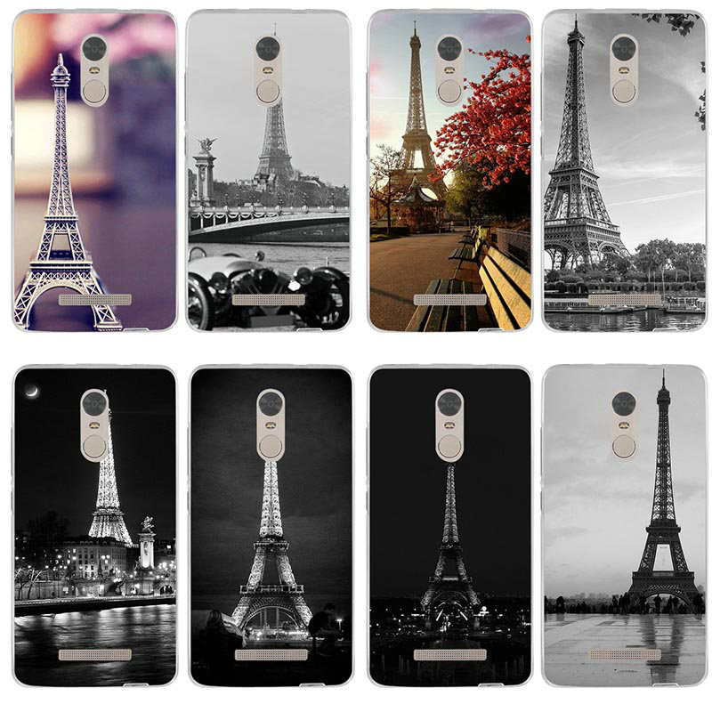 Soft TPU Funny Phone Cases for <font><b>Xiaomi</b></font> Mi 5 6 5S 5X 6X 8 9 SE A1 A2 Max 2 3 Mix 2 Note 2 3 Plus <font><b>Amazing</b></font> Paris France Eiffel Tower image