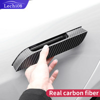 Handle cover for car tesla model s tesla 2018 model s tesla car accessories tesla model s carbon fiber exterior