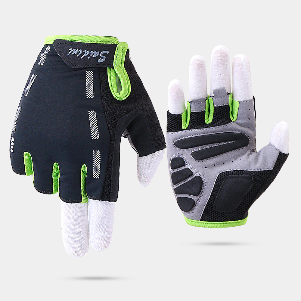 Half Finger Cycling Gloves Anti-Slip Gel Finger Gloves Bicycle Riding Gloves MTB Road Mountain Bike Glove Sport Ciclismo Luvas