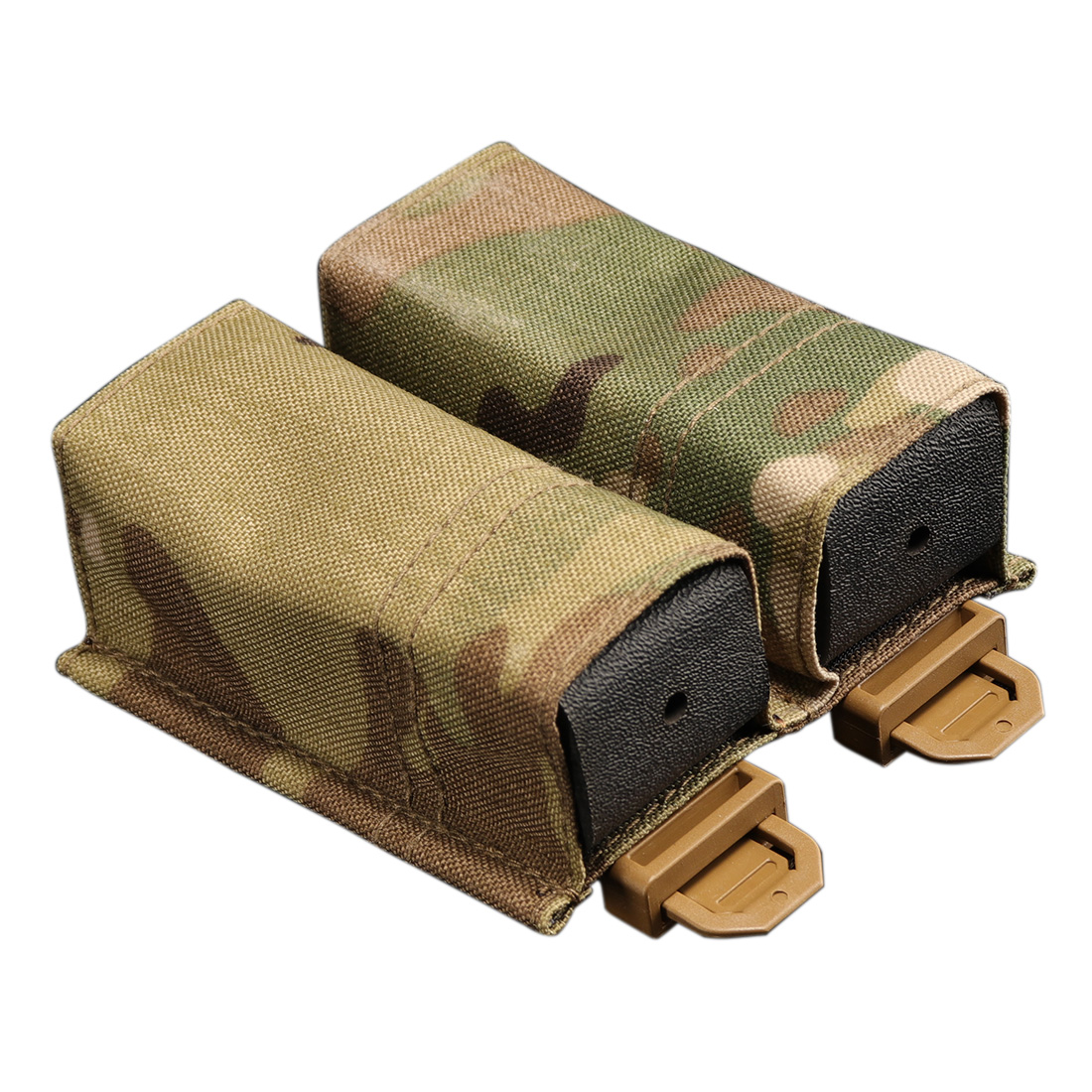 RELOADED AMMO/RA ESSTAC KYWI Type Tactical Quick Release Magazine Pouch - MC 9mm Double Magazine