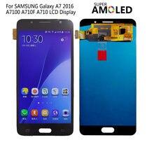 Amoled для samsung galaxy a7 2016 ЖК дисплей a710 a7100 a710f