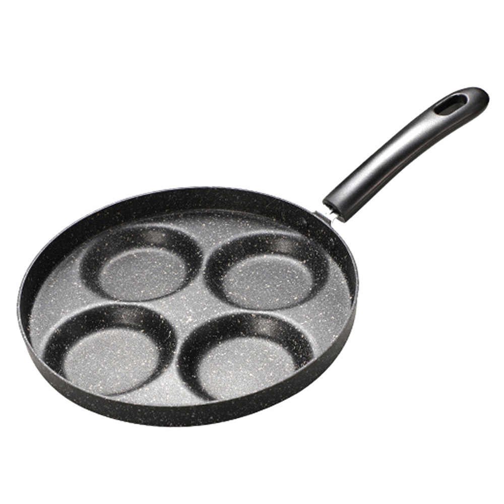 Kitchen Cooking Tools Gadgets Utensils Non-stick Pan Cooking Frying Pan 4  Holes Eggs Maker Pan for Home Kitchen Cooking Pans