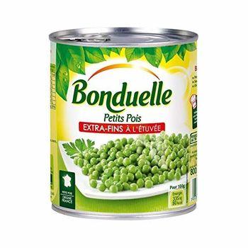 Bonduelle Petits Pois Extra Fins 3X560G - Livraison Gratuite Pour Les Commandes En France - Prix Par Unité