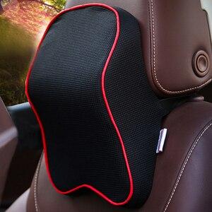 Image 5 - Almohada Universal para el cuello del reposacabezas del coche, cojín para descanso del cuello, Protector para la cabeza, almohadas de soporte, accesorios para el descanso de la cabeza