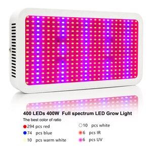 Image 5 - 400W 600W 800W Full Spectrum LED Grow Lights Led Plant Lamp For Greenhouse Grow Tent Vegetables Growth Flowering 110V 220V