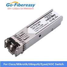 Gigabit In Fibra Ottica Modulo Transceiver SFP 1000Base SX MMF 850nm 550m 1.25G SFP Modulo SX per GLC SX MM SFP Transceiver modulo