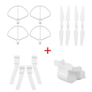 Image 5 - Folding Propeller+ Extended Heighten Leg Tripod+Lens protection cover + protection rings For Xiaomi FIMI X8 SE Drone Accessories
