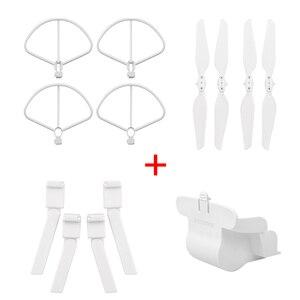 Image 5 - Vouwen Propeller + Uitgebreide Verhoog Been Statief + Lens Bescherming Cover + Bescherming Ringen Voor Xiaomi Fimi X8 Se Drone accessoires