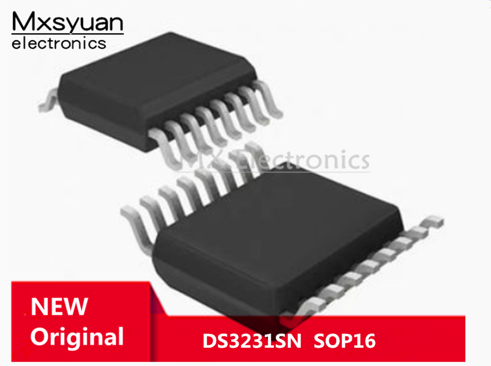10 ~ 50 шт./лот DS3231 DS3231SN SOP16 часы/часы в режиме реального времени в наличии