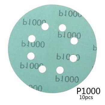 Papeles de lija para Festool, Mocha, Mirka, 150mm, 20 piezas, 6 pulgadas, 600/800/1000/1500/2000