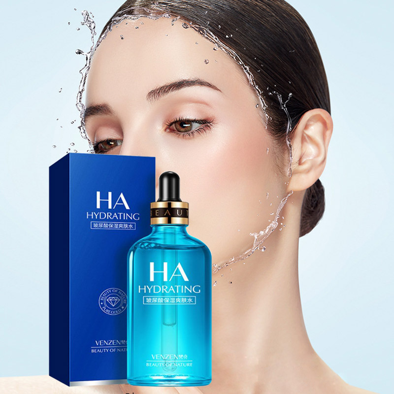 100ML Hyaluronic Acid Face Serum Facial Moisturizing Nourishing Collagen Whitening Lifting Visage Firming Soothing Repair Skin
