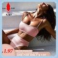 Весна 2020  новый сексуальный комплект бикини  женский купальник  однотонный бикини с открытой спиной  купальник с низкой талией  Женский Браз...