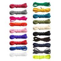 Men Women Color Elastic Round Shoe Laces Kids Adults Sneakers Shoelace