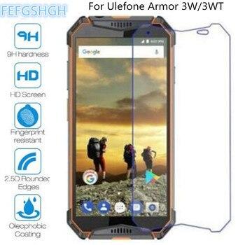 Перейти на Алиэкспресс и купить 9H 2.5D Закаленное стекло для Ulefone Armor 3W Взрывозащищенный протектор экрана для Ulefone Armor 3WT защитная пленка, стекло