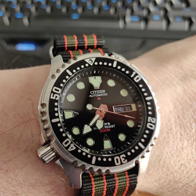 Correa de reloj de alta calidad de nailon de 20mm y 22mm del estilo Nato para James Bond 007, correas de reloj casuales militares, correas de relojes deportivos del ejército reemplazables