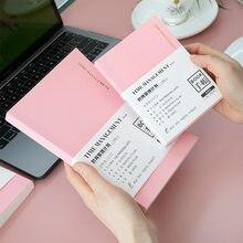 A5a6 fromthenon bloco de notas folha de ouro planejador de tempo gestão semanal mensal kawaii agenda diário de ano inteiro diário bloco de notas escritório