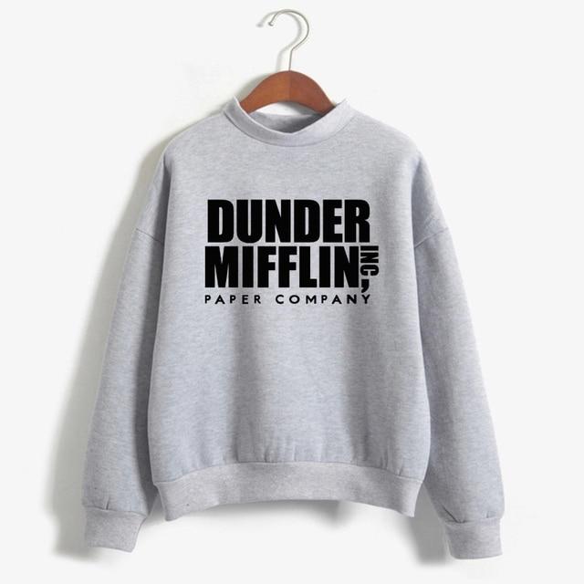 Tops The Office Tv Hoodie Men Women Dunder Mifflin Inc Paper Company Wernham Hogg TV Show Michael Scott Space Sweatshirt 1