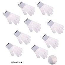 5/10 пар нейлоновые перчатки для автомобиля