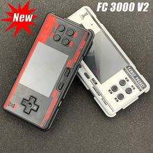 Family Pocket FC3000 V2 Classic Handheld Game Console 2G ROM Built in 4000+ Games 10 Simulator Video Game Console Dropshipping
