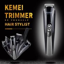 Trimmer Hair Clipper electric shaver beard trimmer men styling tools shaving machine cut hair kemei trimer cliper KM-600 razor 4 цена 2017