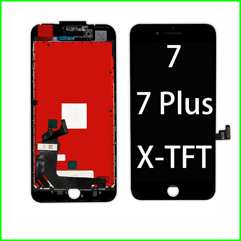 Pantalla LCD for iPhone 7 7 Plus X 6 6s Plus Display Digitizer Assembly 3D Touch Screen No Dead Pixel LCD Display for App iPhone image