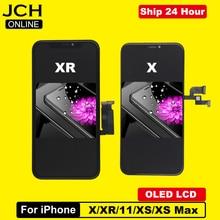 כיתה AAA + + + LCD תצוגה עבור iPhone X OLED מגע מסך Digitizer עצרת LCD עבור iPhone XR XS 11 XS מקסימום TFT החלפת מסך