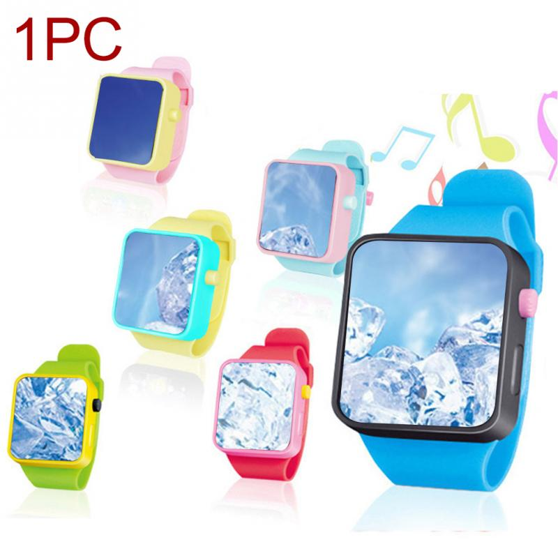 New Children Early Education Smart Watch Kids Learning Machine 3D Touch Screen Electronic Wristwatches Musical Toy 2019 New