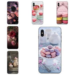 Paris Laduree Macaron Soft Pattern For Huawei Mate 9 10 20 P8 P9 P10 P20 P30 Lite Mini Play Pro P smart Plus Z 2017 2019