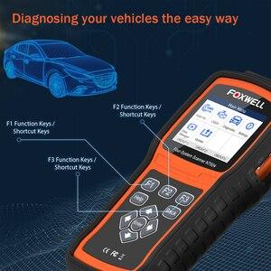 Image 4 - FOXWELL NT604 OBD Scanner Code Reader Motor Überprüfen Scan Tool ABS SRS Übertragung Werkzeuge Für Auto 4 System Diagnose Freies update