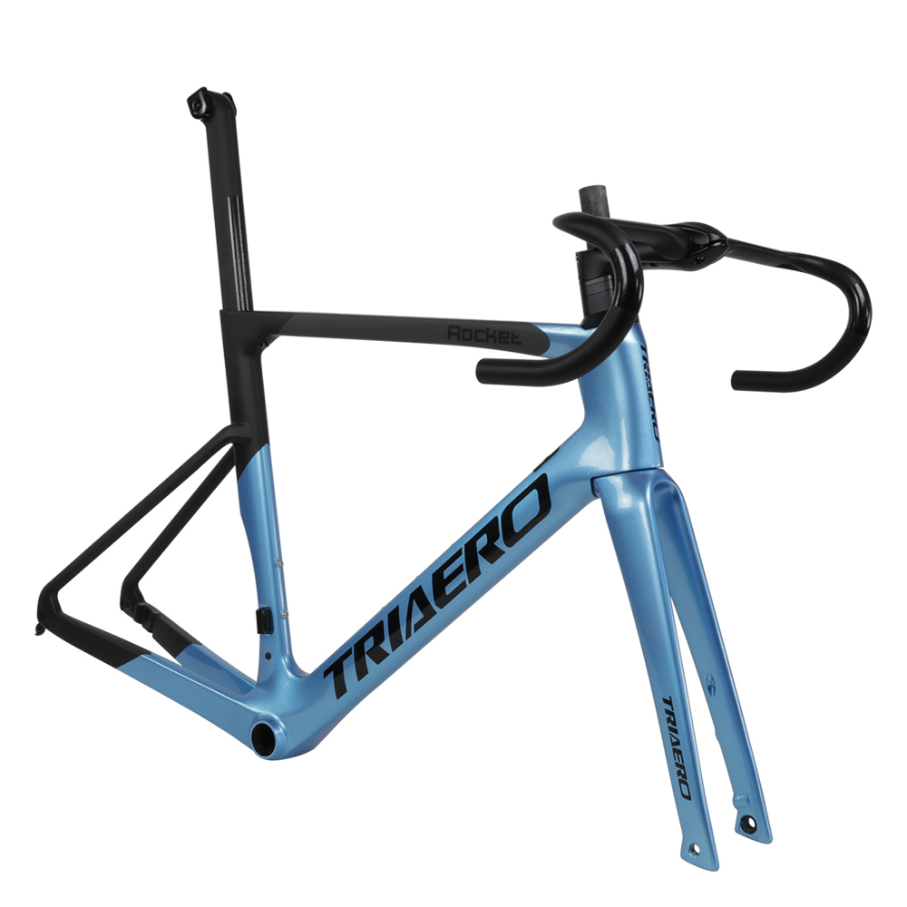 2019 Icanbikes Newest Carbon T800 Frame Road Bike Flat Mount Disc Brake Frame With Front 100mm Rear 142mm