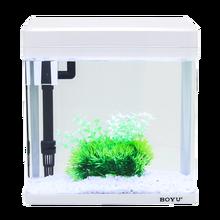 Aquarium Aquarium Small Mini Desktop Ecological Landscape Ornamental Fish Free W