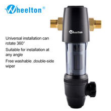 Wheelton Pre Filter Adjustable Direction 59 1 Brass 40micron Prefiltro Water Filter Purifier Protect Appliance
