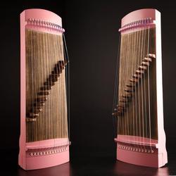 Çin Guzheng çocuk profesyonel 70cm küçük guzheng mini müzik enstrümanı zither tam aksesuarlar ile