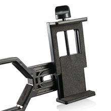 Регулируемый металлический/ABS адаптер для телефона держатель микроскопа телескоп клип крепление