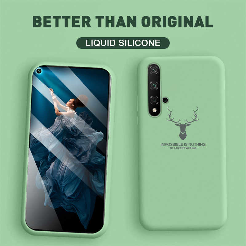 Мягкий жидкий силиконовый чехол для huawei Honor 20 Pro 8X9 10 Lite 10i 20i Play Honor9 Honor10 Honor20 чехол для телефона с ремешком