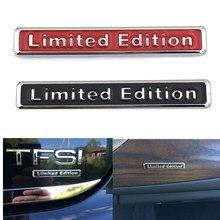 Etiqueta adesiva universal para carro, edição limitada, para mitsubishi asx outlander lancer ex pajero opel mokka volvo s60 v60 xc60