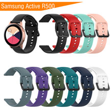 Sport Silicone Strap for Samsung Galaxy Watch Active R500 Smart Adjustable Replace Bracelet