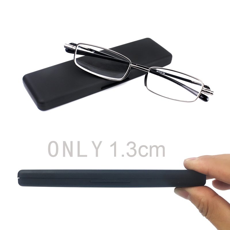 Slingshots Glasses Magnifying Glasses Progressive Reading Glasses For Men Women Foldable Full-Rim Frame Glasses Presbyopic