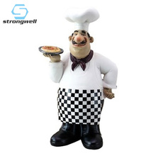 Strongwell European Chef Decoration Restaurant Table Bar Decorations Cake Pizza Shop Furnishings Home Accessories