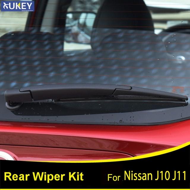 Xukey Rear Windshield Windscreen Wiper Blade Arm Blade Set For Nissan Qashqai Dualis J10 J11 2017 2007 2008 2009 2010 2011 2010