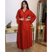 Robe longue en flanelle turque pour femmes musulmanes, Hijab rouge, aide islamique, Moubarak, Caftan Marocain, Djellaba, dubaï, Abaya, Kaftan, 2021