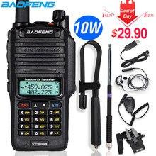 10w baofeng UV-9R além de walkie talkie à prova ddual água dupla banda portátil cb caça rádio presunto uv 9r mais transmissor hf transceptor 9r