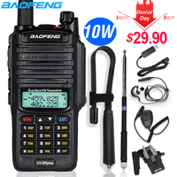10W Baofeng UV 9R plus Walkie Talkie Waterproof Dual Band Portable CB Hunting Ham Radio UV 9R Plus hf Transceiver 9R Transmitter