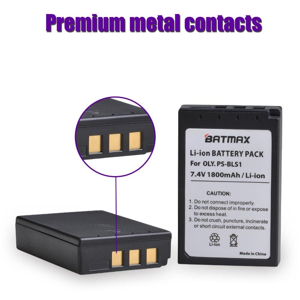 Bateria-cargador para olympus pen e-pl1 epl1 epl-1