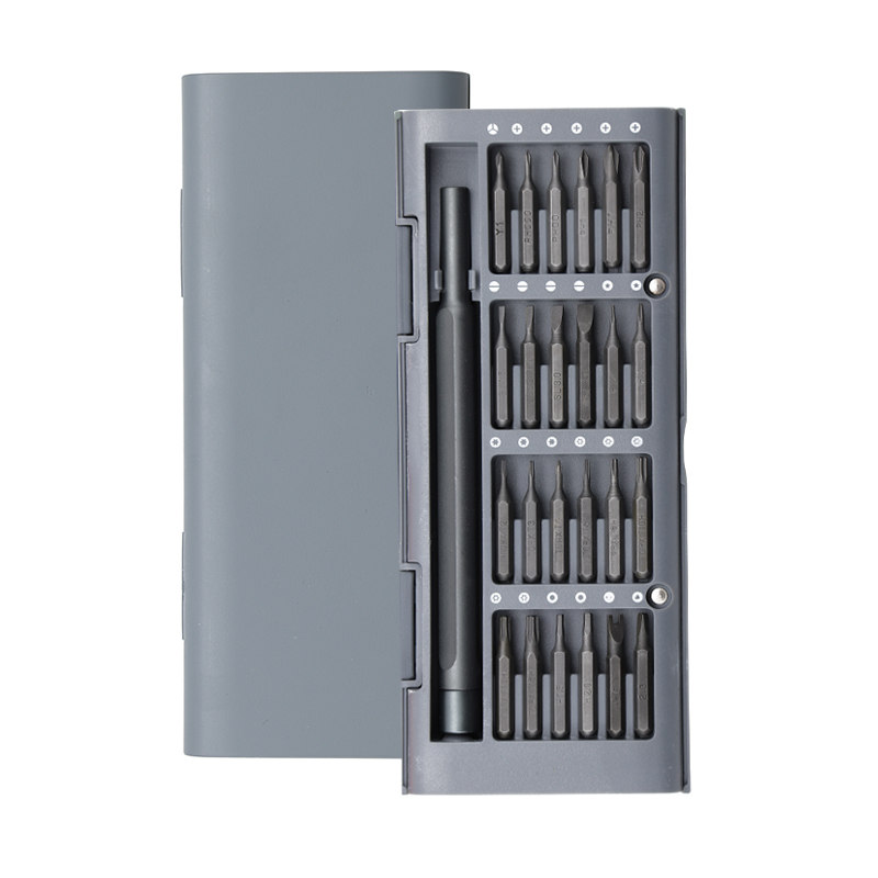 Multifunctional For Xiaomi Daily Use Screwdrive Kit 24 Precision Magnetic Bits AL Box Screw Driver For Xiaomi Smart Home Set