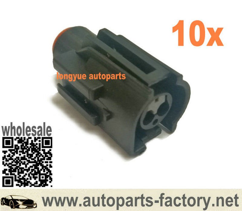 Longyue 10set  2 Pin Radiator Fan Switch Repair Connector Kit  For Sierra Cosworth Zetec Escort Focus For Ford