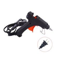 цена на 20W Heating Mini Hot Melt Glue Gun Family Fast Repair Mini Glue Gun With Switch Manual Diy Tool Glue Gun